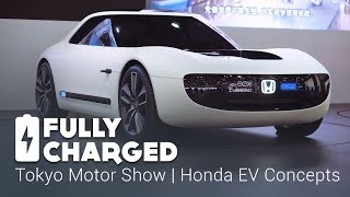 Tokyo Motor Show 4 - Honda EV Concepts | Fully Charged
