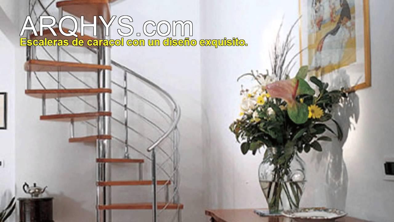 Escaleras de caracol de herrer a aluminio hierro y for Escaleras de hierro y madera