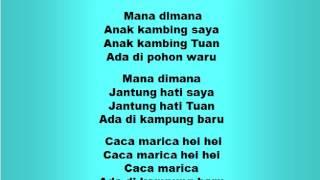 Download Lagu Lagu dan Tari Nusantara: ANAK KAMBING - Lagu Anak Gratis STAFABAND