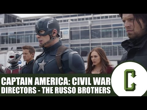 Captain America: Civil War Directors - Joe and Anthony Russo In Studio Interview