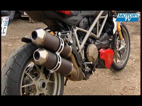 Essai moto DUCATI STREETFIGHTER S Video