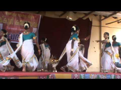 Thiruvathira Up- Kerala School Kalolsavam 2014 - Alappuzha - Bbhs Nangiarkulangara video