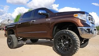 2015 TOYOTA TUNDRA 1794 EDITION CREW MAX 4X4 LIFTED TRUCK FOR SALE