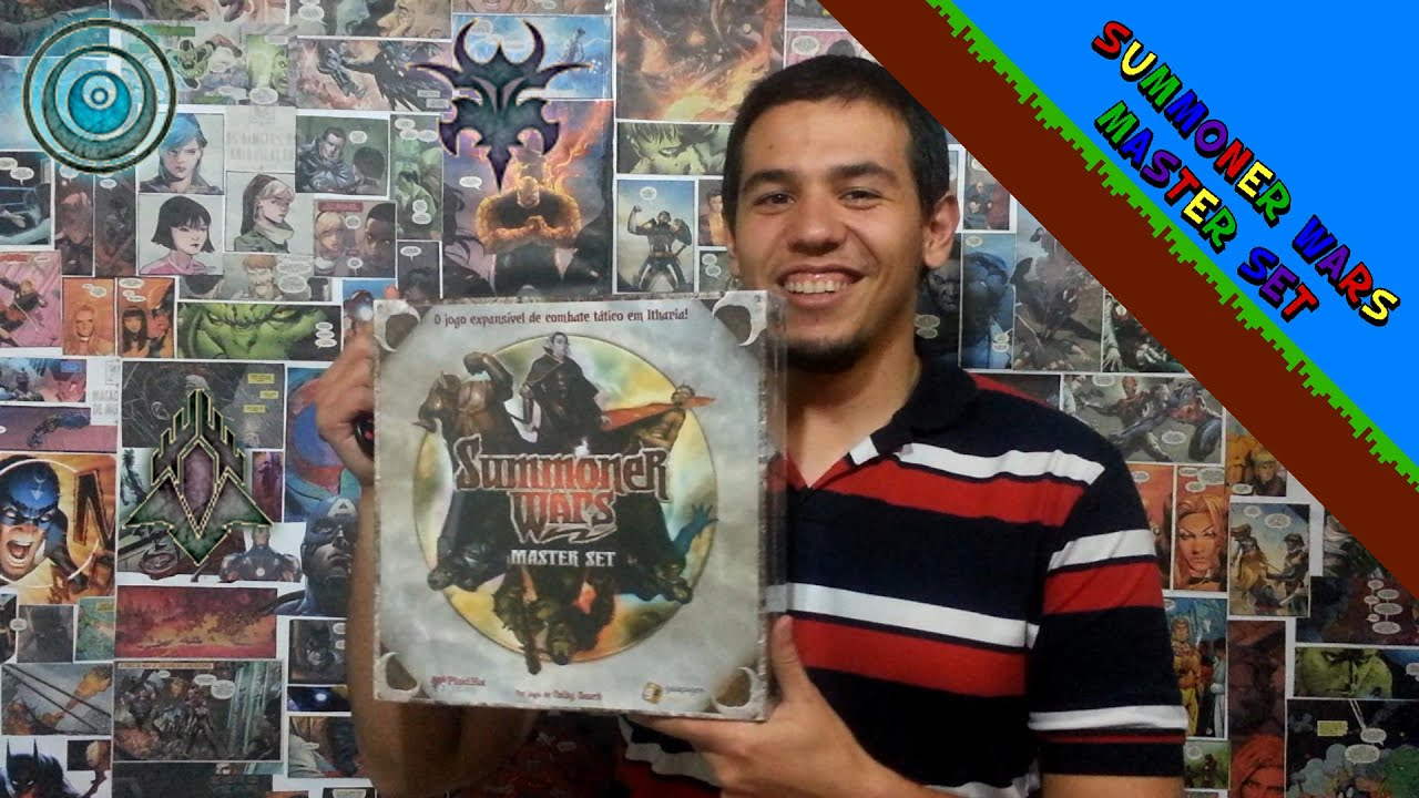 Summoner Wars Master Set Unboxing Summoner Wars Master Set