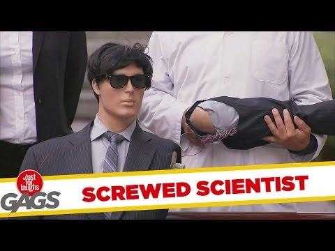 Screwed Robot Scientist Prank