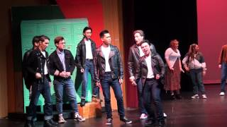 """Grease"" concert my nephew Calvin Htet with their friends"