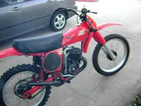 1977 CR125 Elsinore