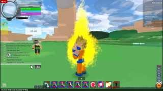 Ultimate Potara Fusion!!!! roblox Dragon ball FA