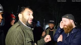 P2 Antisemitism or Freedom of Speech? Br Adnan Vs Joseph Speakers Corner Hyde Park