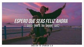 Kygo Sandro Cavazza Happy Now Letra Ingles Español