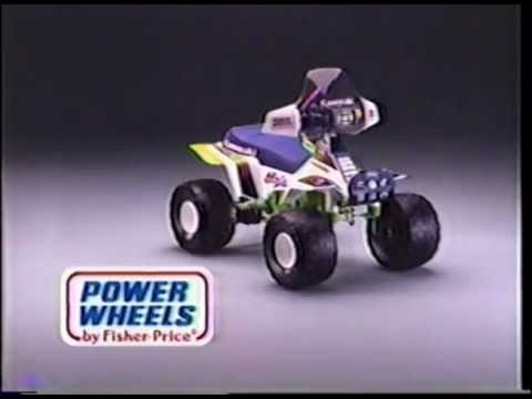 Power Wheels Commercial - Kawasaki Ninja - YouTube