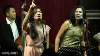 Monita Tahalea ft. Gaby - You're My Everything @ Mostly Jazz 21/08/13 [HD]