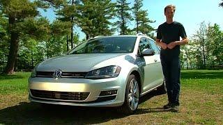 2015 Volkswagen Golf SportWagen - TestDriveNow.com Review by Auto Critic Steve Hammes   TestDriveNow