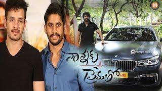 Akhil and Chaitu Gifted to Nagarjuna a Brand New BMW Car