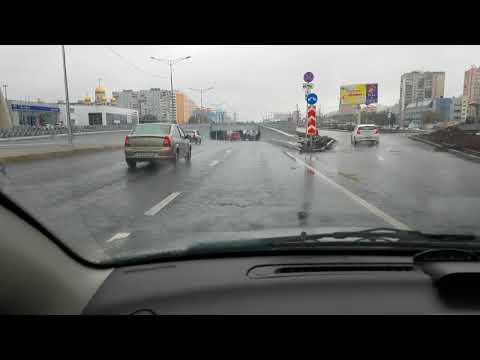 Самара ул.Московское шоссе от ул.Авроры до ул.Алма-атинской