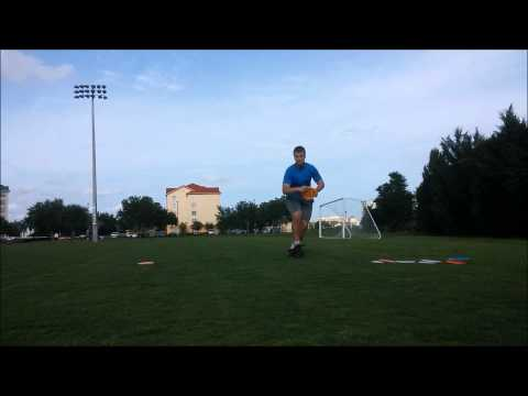 side-arm disc golf form
