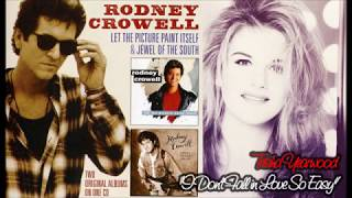Watch Rodney Crowell I Dont Fall In Love So Easy video