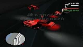 [HD]GTA:SA SAPD:FR v2.5 Patrol Day 1 High Way Pursuit 2