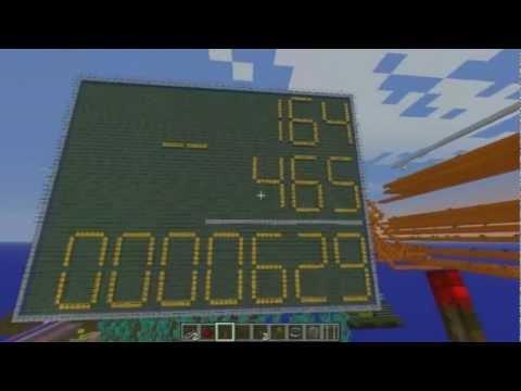 AMAZING minecraft redstone calculator