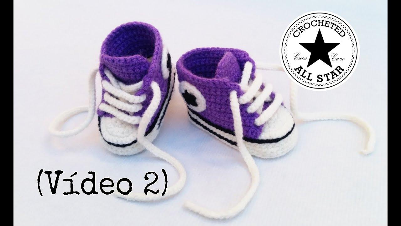 Como De Bebe Crochet Converse - newhairstylesformen2014.com
