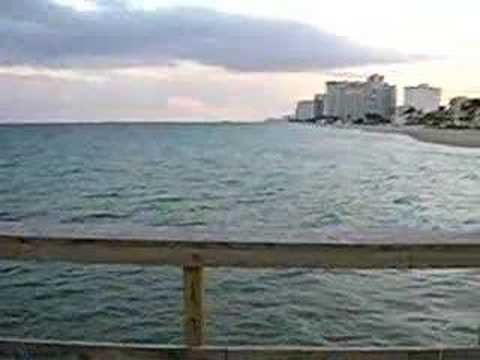 Fishing Pier at Ft. Lauderdale Beach (Commercial Blvd & A1A)