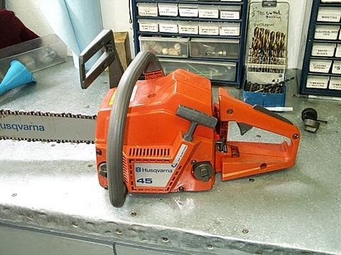 Husqvarna 45 Chainsaw Compression Test