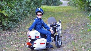 Little Heroes Kid Motorz Police Motorcycle Kid Cops The Ghost Buster