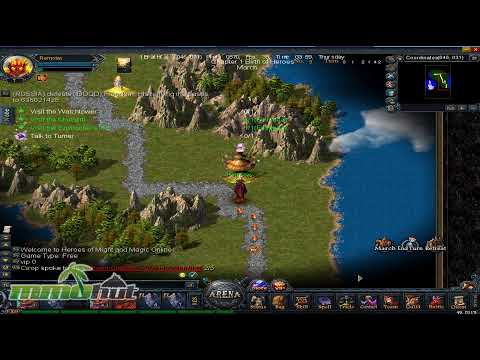 Heroes of Might and Magic Online Gameplay - First Look HD