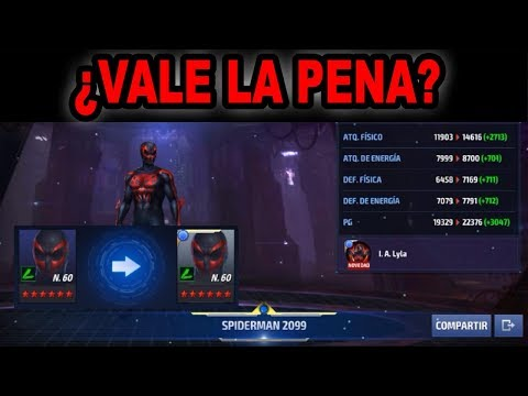 [Marvel Future Fight] Spider-Man 2099 Tier 2 Full Review | ¿Vale la Pena? #26