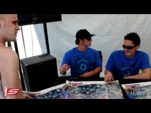 Tampa Bay Damage Signing @ GI Sportz Booth - 2011 PSP World Cup of Paintball