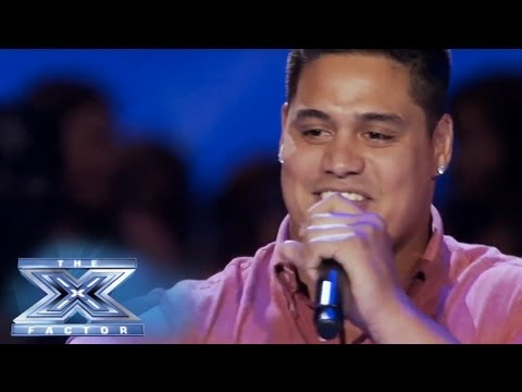 Isaac Tauaefa's bubbly Performance - The X Factor Usa 2013 video