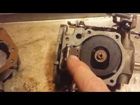 Vintage Outboard Carburetor Basic Maintenance for Johnson / Evinrude / OMC