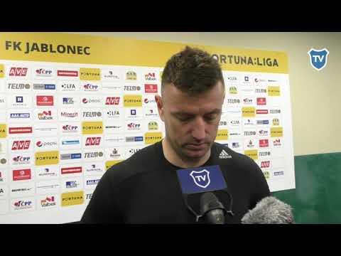 OHLASY / Jan Laštůvka po Jablonci (0:4)