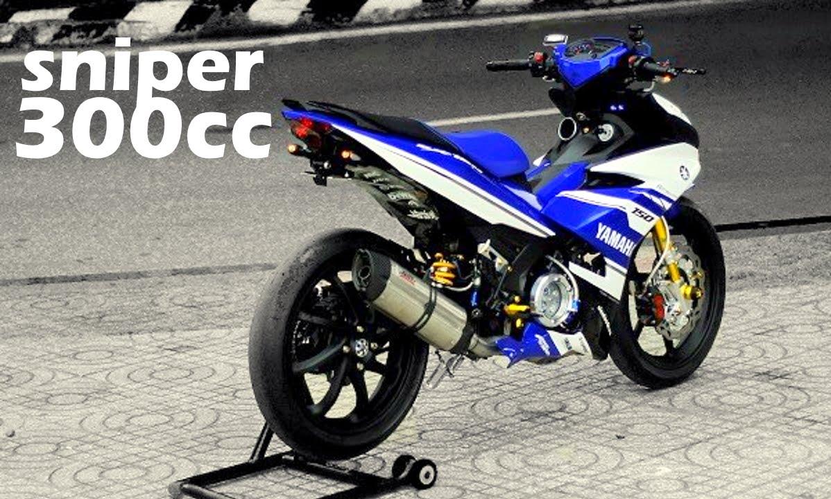 300cc Moped Marvz Extreme Yamaha Sniper MX ! - YouTube