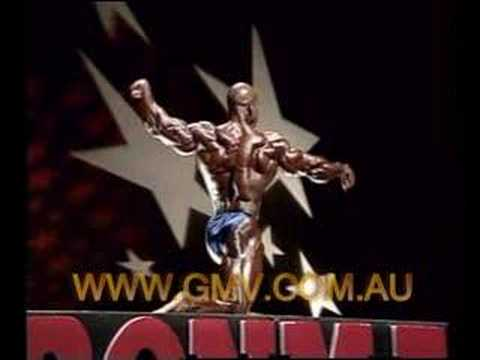 1998 Ironman - Flex Wheeler makes it 5! From GMV DVD