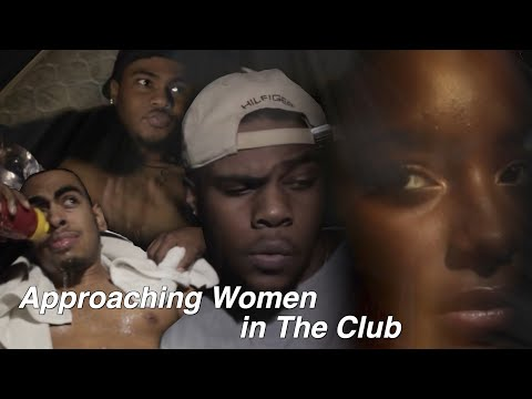 When Approaching Woman In The Club (Comedy Skit)