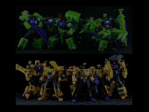 MAKETOYS and TFC TOYS DEVASTATOR Giant vs Hercules Reloaded!