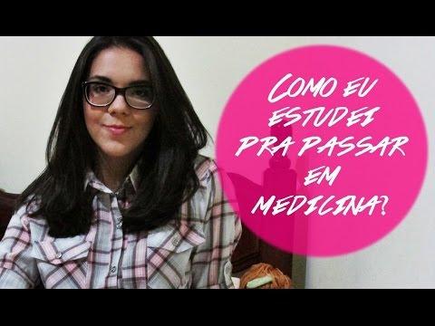 COMO EU ESTUDEI PARA PASSAR EM MEDICINA   ✩   SARAH BORTOLATO