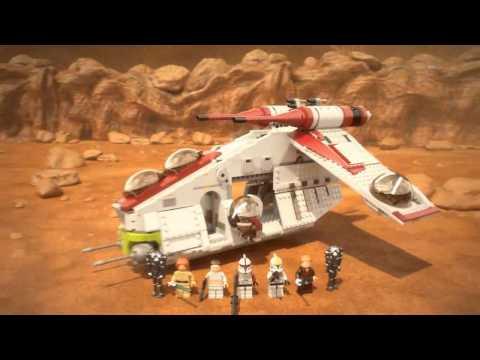 Lego Star Wars 75021 Лего Звездные Войны Республиканский истребитель - Детки Тойс