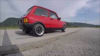 AUTOBIANCHI A112 ABARTH // Ignition and acceleration