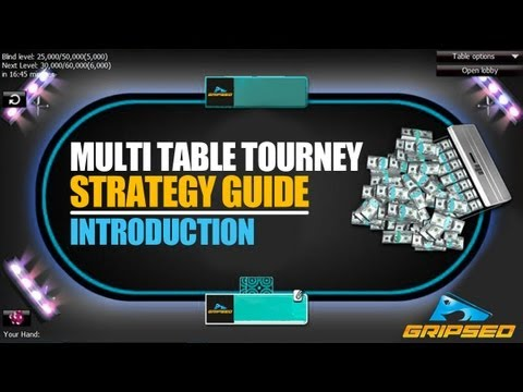Multi Table Tournament Strategy Guide  - Part 1 (introduction)