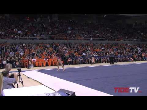 Alabama Gymnastics: The 2012 Auburn Meet Highlights