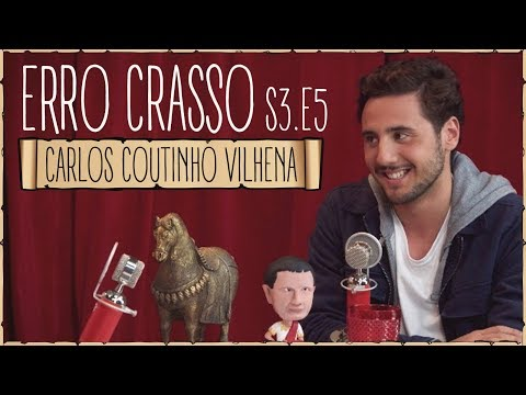 Erro Crasso T3 Ep5 - CARLOS C. VILHENA, atores portugueses, frases em inglês e o desafio da canela.