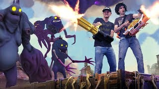 NERF WAR: Fortnite ZOMBIES!