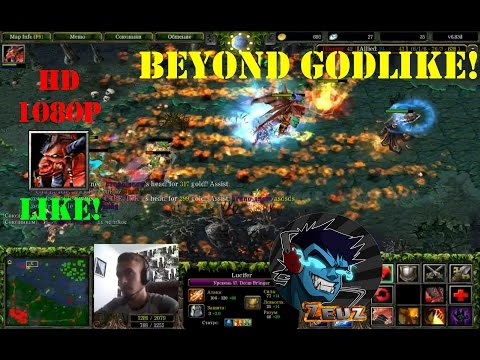 ★DoTa Lucifer, Doom Bringer - GamePlay | Guide★ Beyond Godlike!★