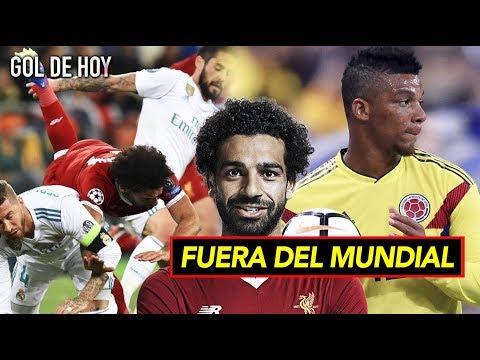 Bajas del mundial por lesión I Salah le responde a Ramos thumbnail