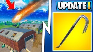 *ALL* Fortnite 5.4 Info! | Dusty Depot Meteor, New Map, Delayed Release! ( Update )