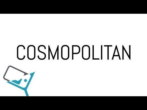 Cosmopolitan Cocktail &#8211; Drink Recipe &#8211; Cosmopolitan how to &#8211; klinq app &#8211; absolut citron vodka
