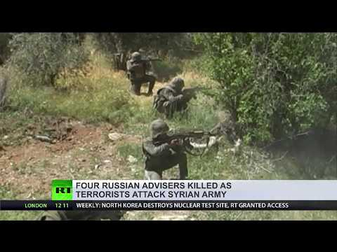 Russian military personnel killed in shelling carried out by terrorists in Syria
