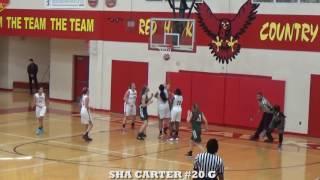 Sha Carter 2016 Jr. Highlights 1st 5 Games